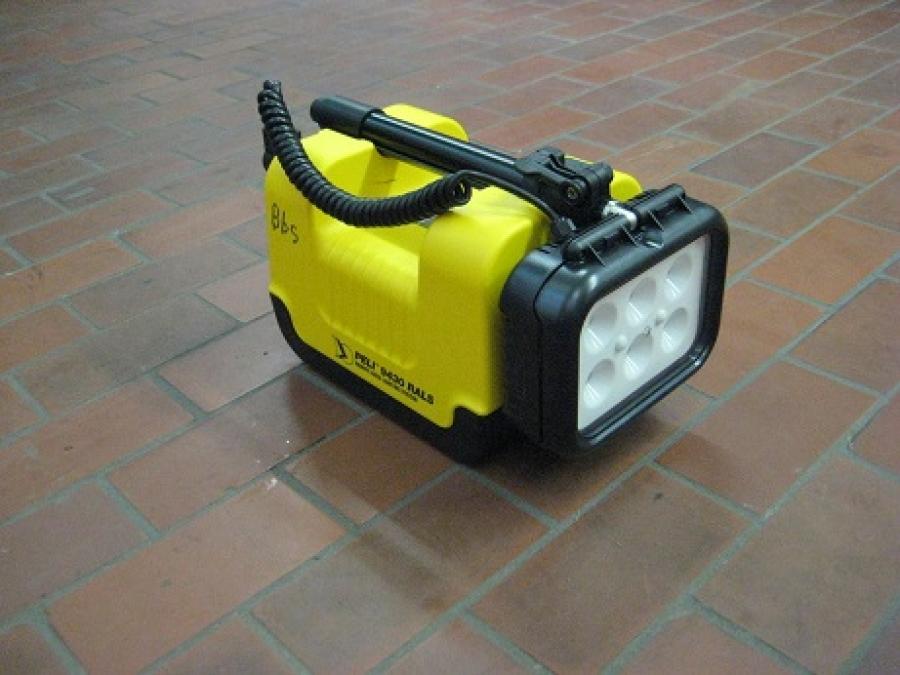 Mobiles LED Scheinwerfersystem