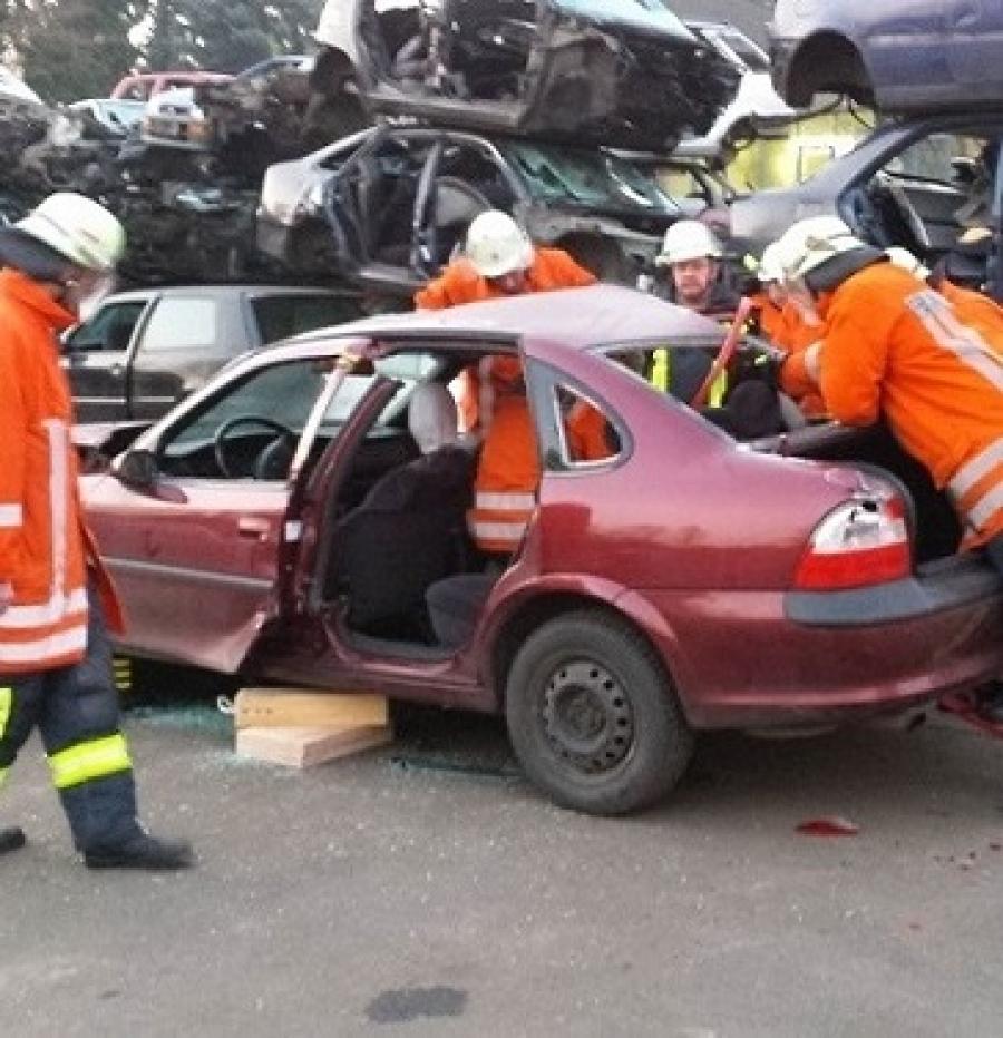 Feuerwehrfrau/mann Ausbildung